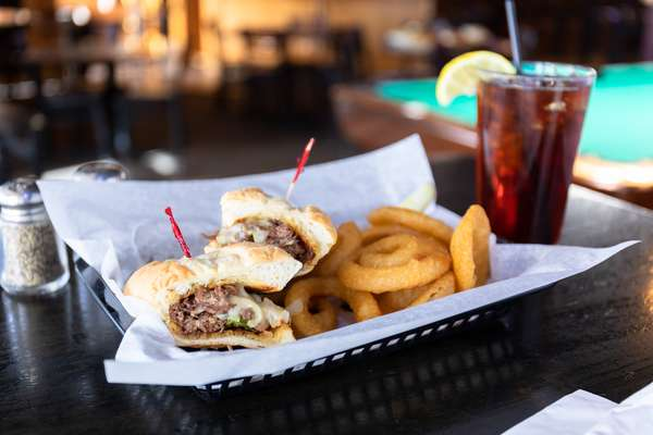 Philly Steak or Chicken Sandwich
