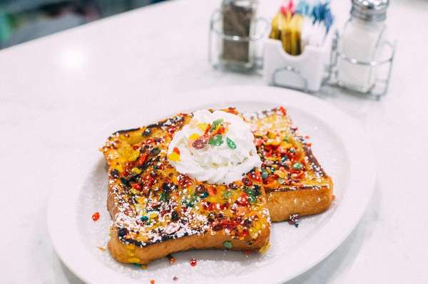 Fruity Pebbles French Toast