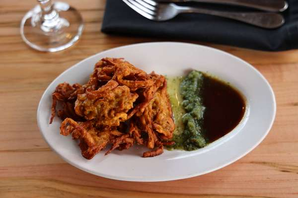 Onion Pakora top