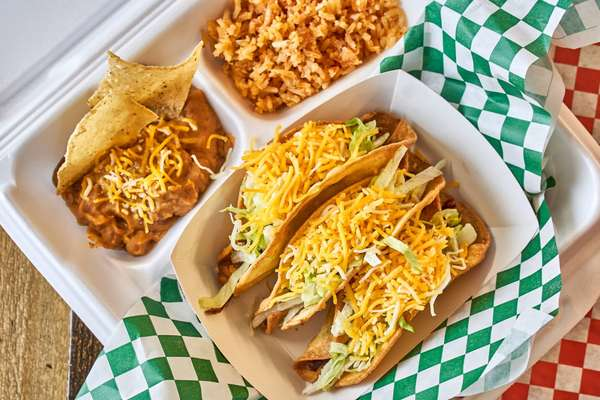 Taco meal
