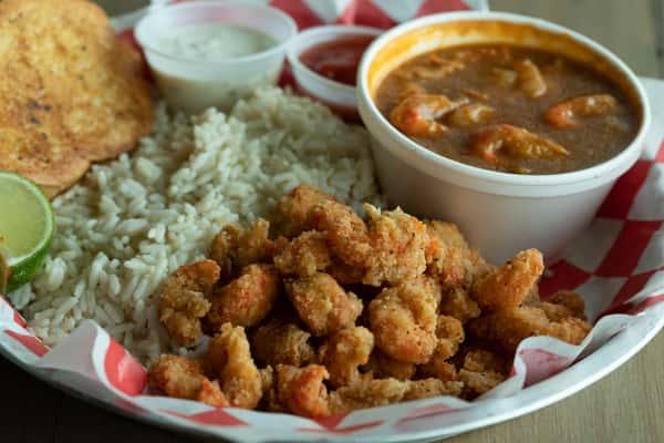 Fried Crawfish Tails & Étouffée