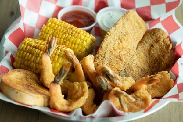 1 Fish & 9 Shrimp