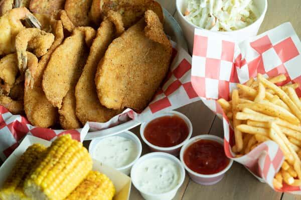 Fried Fish and Shrimp