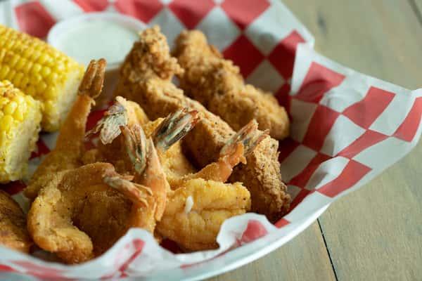 2 Tenders & 3 Shrimp