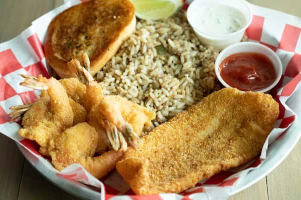 1 Fish & 3 Shrimp