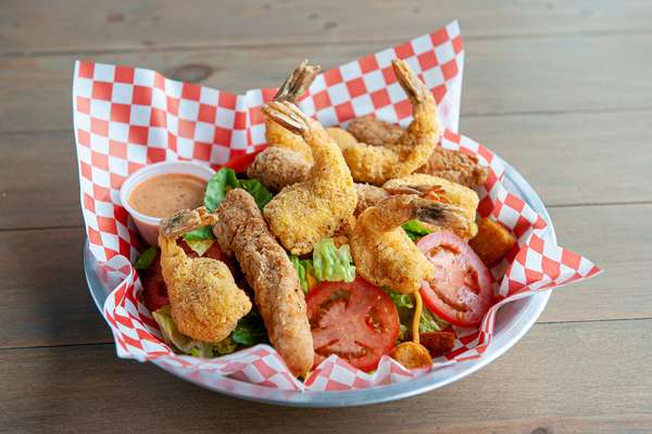 Chicken and Shrimp Salad