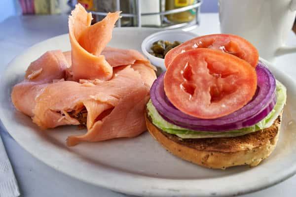 Nova Scotia Lox Bagel Sandwich