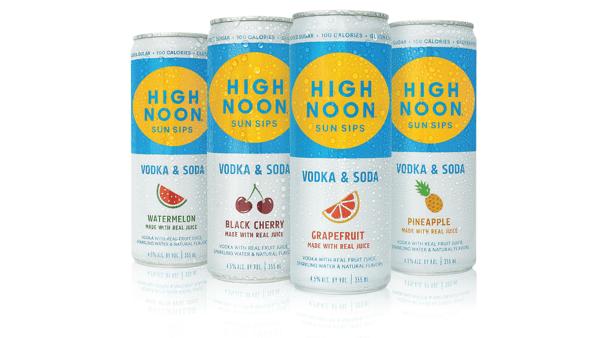 High Noon - Hard Seltzer $7
