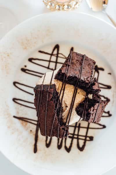 Earthquake Brownie