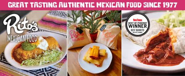 Winner of Best Burrito Phoenix New Times 2021