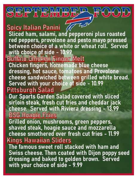 Monthly Food Features