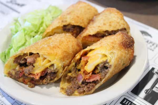 Cheese Burger Rolls