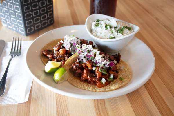 two taco lunch special