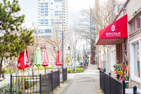 exterior of spinceup szechuan
