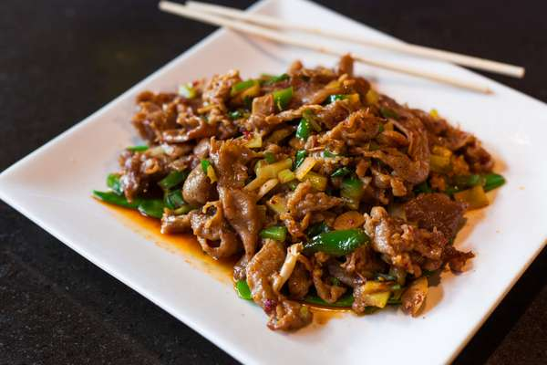 lamb in szechuan sauce
