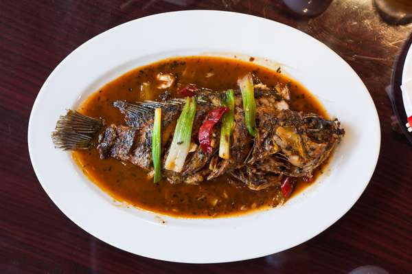 Chinese whole fish meal