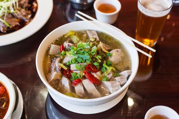 duck in beer soup