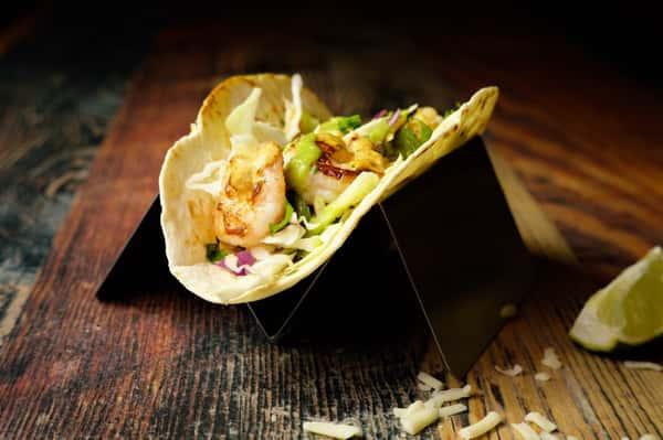 grilled shrimp taco