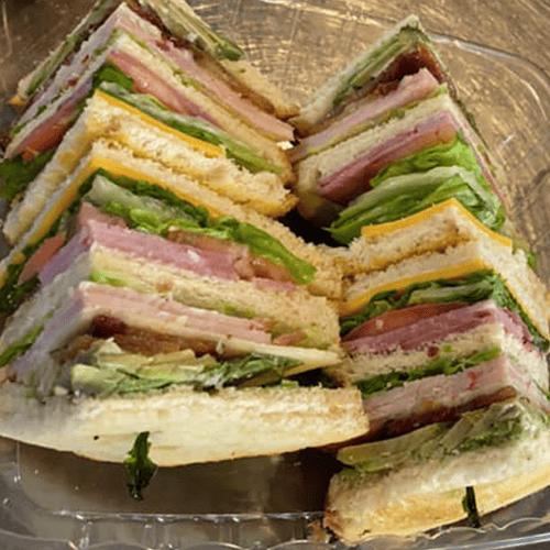 sandwich at Saint Ynez Cafe