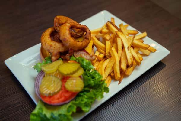 Cowboy Burger 1/2lb
