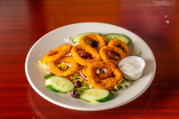 Calamari Greek Salad