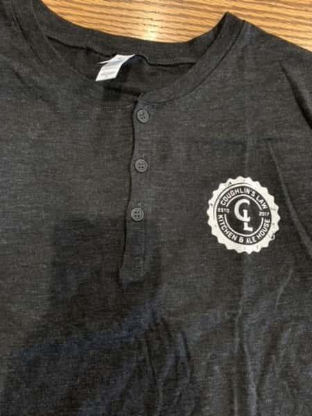 Mens Three Button Tri-Blend Shirt