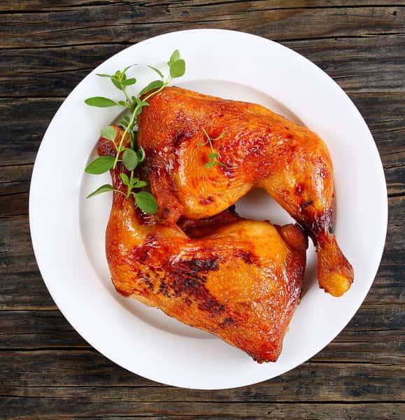 Barbecue Chicken Leg Quarters