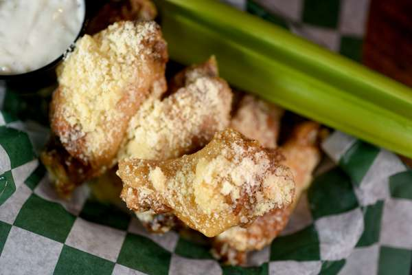 Parmesan Garlic Wings