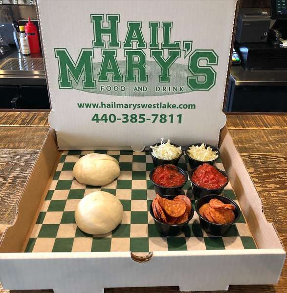 Mary's Take and Bake Pizza Kit