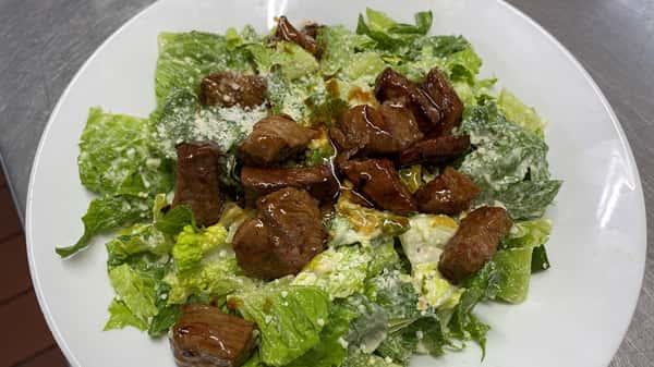 Teriyaki Sirloin Caesar Salad