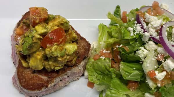 Avocado Tuna Steak