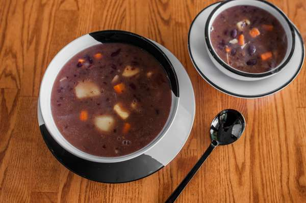 red pea soup