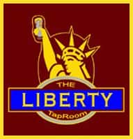 the liberty tap room logo
