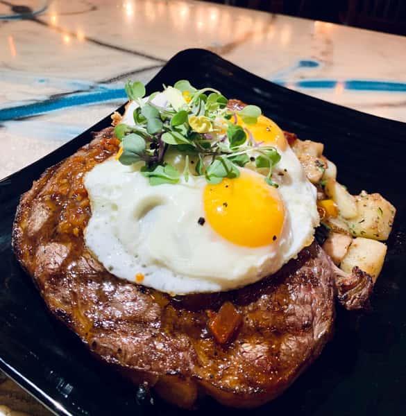 Steak and Fried Egg