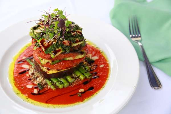 Charred Vegetable Napoleon
