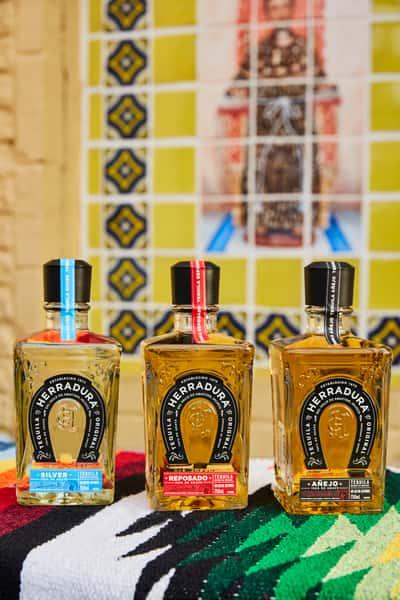 bottles of tequila