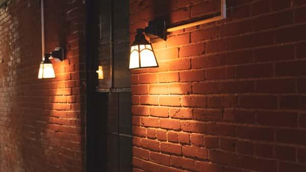 Light on wall