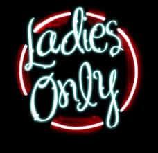 MONDAY NIGHTS --- LADIES ONLY
