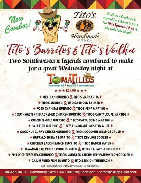 Tito's Burritos & Tito's Vodka