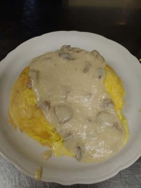 Mushroom Omelette (1830 cal)