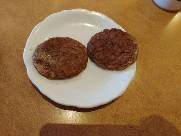 Farm Style Sausage (480-500 cal)