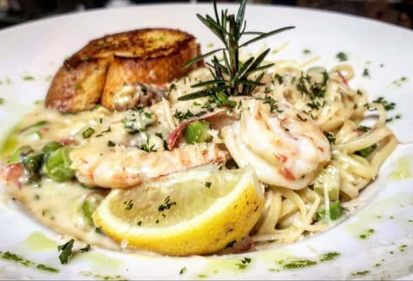 Crab & Shrimp Pasta