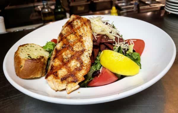 Capers Salmon Salad