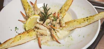 Garlic Sauteed Crab Fingers