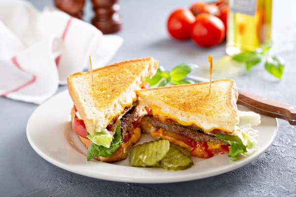 BLT with pickes