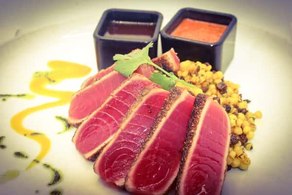 Tandoori Spiced Yellowfin Tuna*
