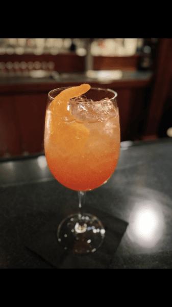 Peach Aperol Spritz
