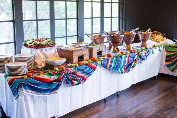 full catering setup