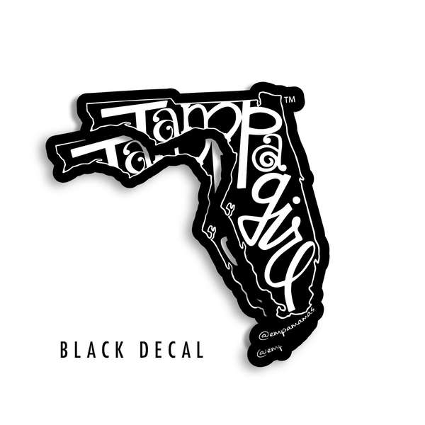 Tampa Girl Decal - Black