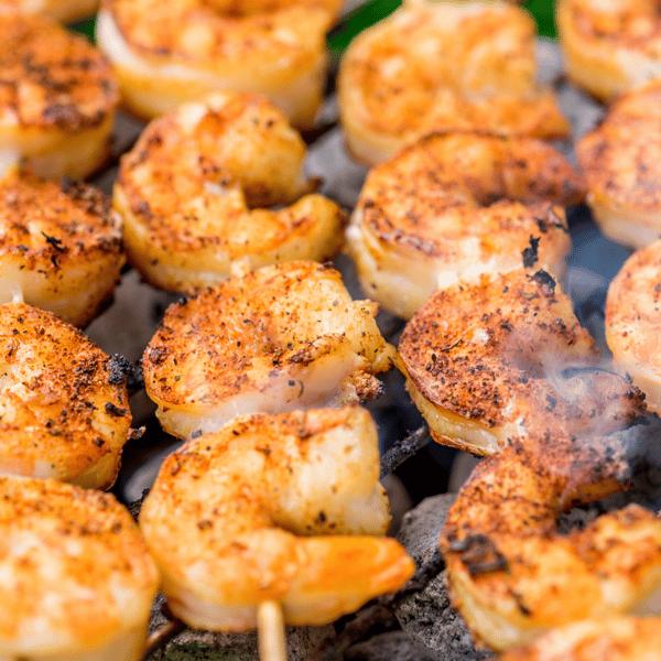 Seasoned Grilled Shrimp (5)